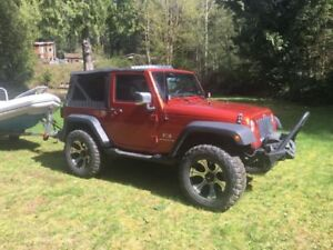 2009 Jeep Wrangler trail edition SUV, Crossover