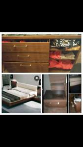 Bedroom set no mattress