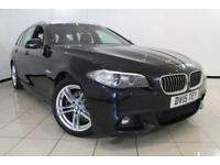 2015 15 BMW 5 SERIES 2.0 520D M SPORT TOURING 5DR AUTOMATIC 188 BHP DIESEL