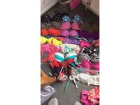 Job lot of bikinis size 8-10