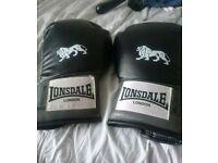 Lonsdale 16oz boxing gloves