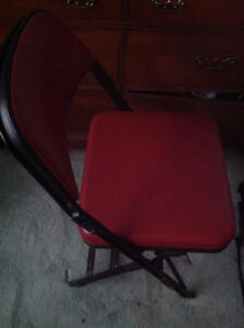 Folding Padded Chairs (4 of them)