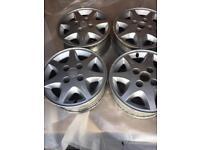 "Ford 14"" alloy wheels"