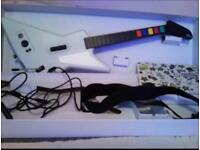 Guitar Hero X-Plorer wired guitar for Xbox 360