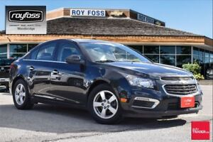 2015 Chevrolet Cruze 2LT. BACKUP CAM. REMOTE START. FUEL EFFICIE