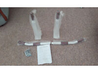 Wall Horizontal Bars - Body Building - Mint Condition. Never Used.