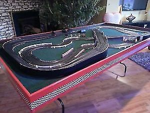 Beautiful hand made slot car set