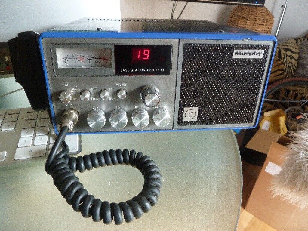 Murphy CBH 1500 CB Radio UK 27 81 FM Homebase With Power