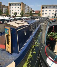 "47"" semi-trad narrowboat substantially upgraded and refurbished"