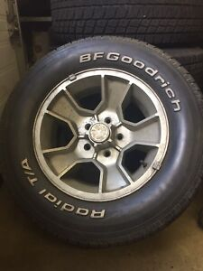 factory monte ss rims with center caps
