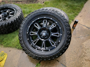 "Mayhem Hammer's 20"" Rims and Mickey Thompson Tires F150"