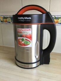 Soup, smoothie, juice maker, Morphy Richards, as new