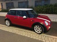 2003 Mini Cooper Red 1.6 Manual 12 months MOT £1250