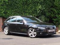 2011 Audi A4 Avant 2.0 TDI S LINE AVANT 136PS - BLACK - MANUAL -