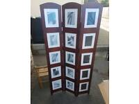 Mahogany Photo Divider