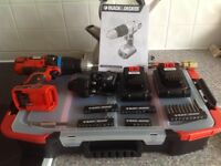 Black and decker battery drill