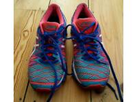 For sale is a pair of the Asics Gel ladies trainers.