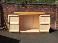 BRAND NEW NEVER USED 7 X 3 BIKE SHED WITH 2 KEYS