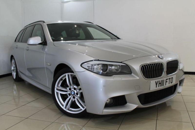 2011 11 BMW 5 SERIES 2.0 520D M SPORT TOURING 5DR AUTOMATIC 181 BHP DIESEL
