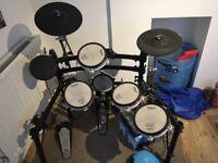 Full Roland TD-8 V-Drum kit (Electronic drum kit)