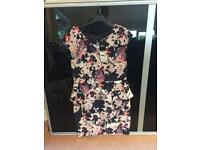 Next flowery dress with tags