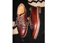 russell and bromley mens walking brogues
