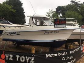 BOAT / FISHING BOAT ARVOR 20 DEISEL