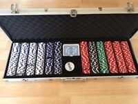 Poker Chips + steel package £15 ONLY