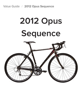2014 opus sequence road bike