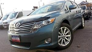 2009 Toyota Venza / LEATHER / 4 CYL / AWD / ALLOYS / HITCH /