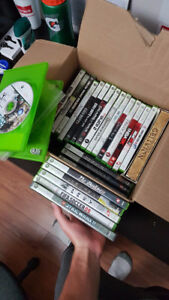 Xbox 360 Games for Sale - 5$ each or 50$ for entire box