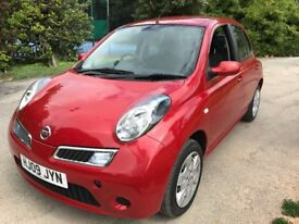 2009 Nissan Micra Acenta AUTOMATIC with only 29000 miles from new.