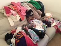 Huge bundle Girls clothes 5-6