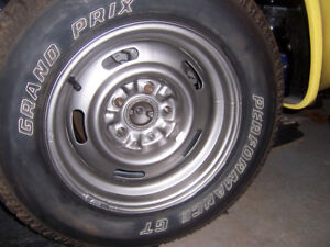 4- Chevy Rallye Wheels & Tires