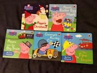 Peppa Pig board books x 5