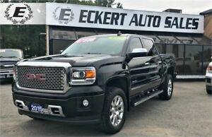 2015 GMC Sierra 1500 Denali 6.2L /LOADED/NAV/SUNROOF/LEATHER