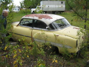 53 Chev reto project or parts car