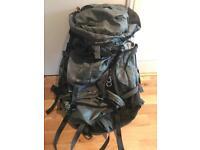 Vango 50 + 10S Hiking/Camping Rucksack