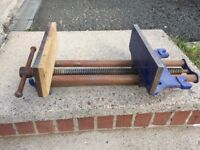 Record No 53 large woodworkers bench vice