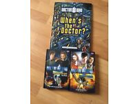 Dr Who Books -New