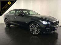 2015 INFINITI Q50 SPORT D 4 DOOR SALOON DIESEL 1 OWNER FROM NEW FINANCE PX