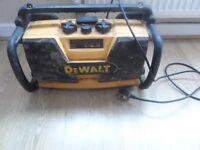 Radio Dewlat battery dewalt 18v 2,6Ah