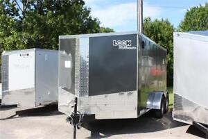 2018 LOOK PRO SERIES 7X14 ENCLOSED CARGO TRAILER