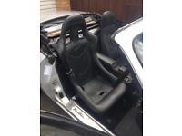 Cobra Monaco bucket seat with mx5 rails