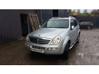 breaking 2004 silvers sangyong rexton turbo diesel 4x4 parts spares mercedes engine