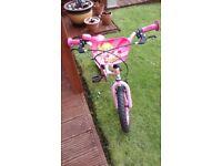 """Girls Roxie 2-wheeler bike - 16"""""""