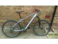 Custom-made mountain bike
