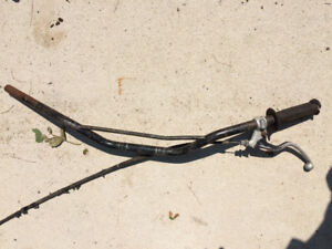 Honda XR200R handlebars XR600 XR350 XR250 XR500 clutch lever per