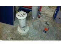 retro parafin heater and accessories