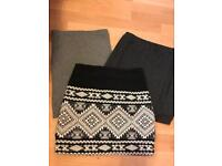X3 Size 8 Skirts